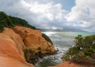 Coastal Cruise to Red Rocks